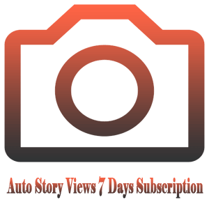 Auto Story Views for 7 Days Subscription